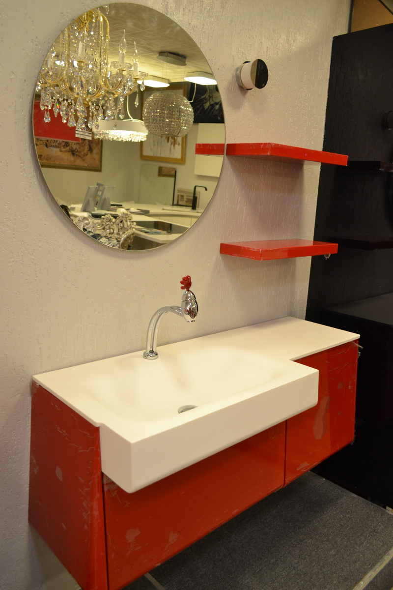 Полка для зеркала для ванной комнаты
