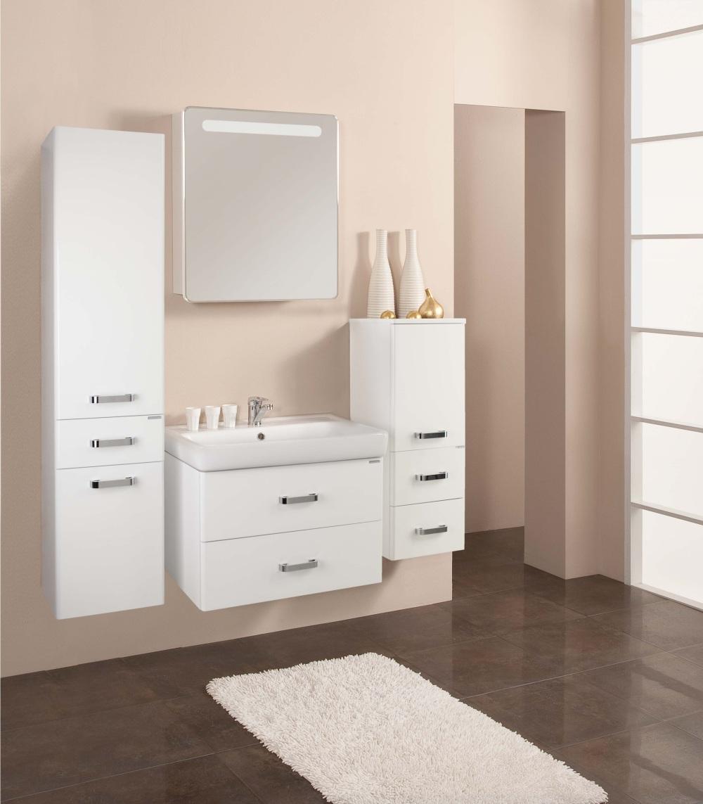 Зеркальный шкаф для ванной комнаты